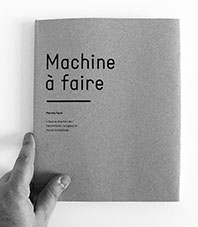 Machine à faire